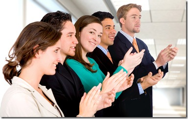 Your network clapping for you - cheering for you in your job search